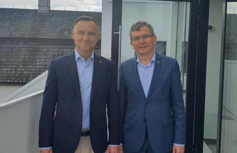 Burmistrz Lelek w gronie doradców prezydenta RP Andrzeja Dudy