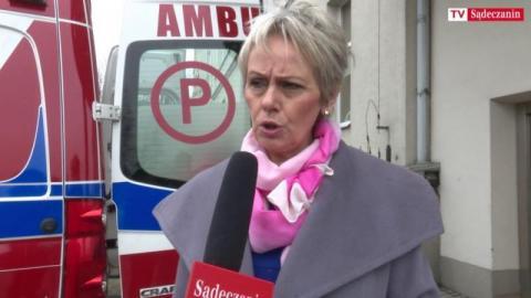 Lidia Zelek, nowy dyrektor szpitala