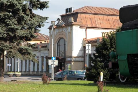 dworzec PKP Nowy Sącz