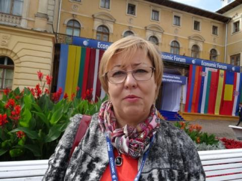 Marta Mordarska: Forum pokazuje społeczną twarz biznesu