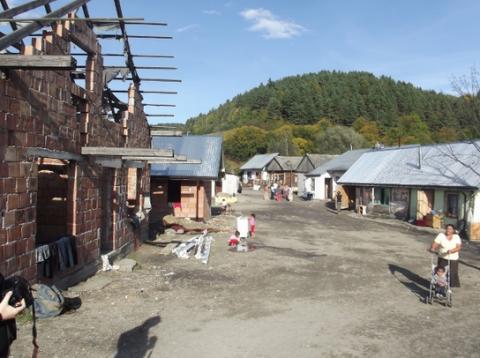 osada Romska w Maszkowicach