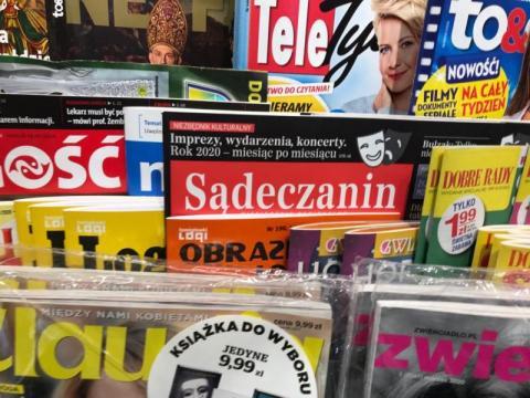 """Miesięcznik """"Sądeczanin"""" kupisz w Inmedio w nowosądeckim Kauflandzie"""