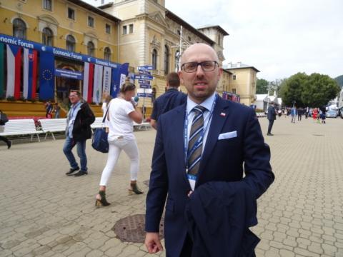 Minister Krzysztof Łapiński na Forum Ekonomicznym