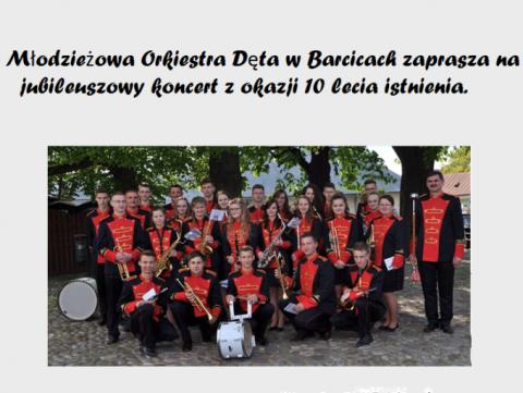Młodzieżowa Orkiestra Dęta z Barcic