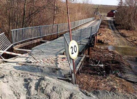 Most koło Łącka jak  z horroru. Prowadzi kierowców na tamten świat [ZDJĘCIA]