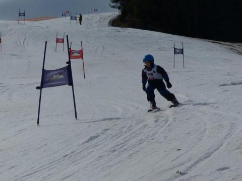 Zawody narciarskie w Jaworkach