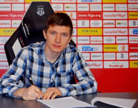 Sandecja ma nowego piłkarza. Kim jest 25-letni Dominik Kun?