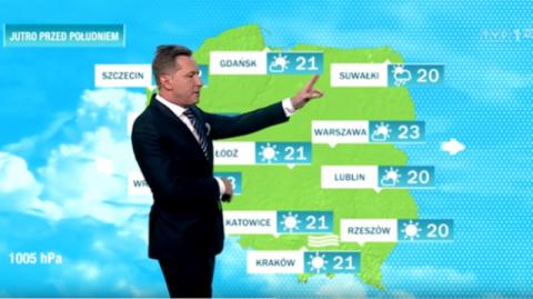 Telewizja Polska nie chce Nowego Sącza na mapie pogody