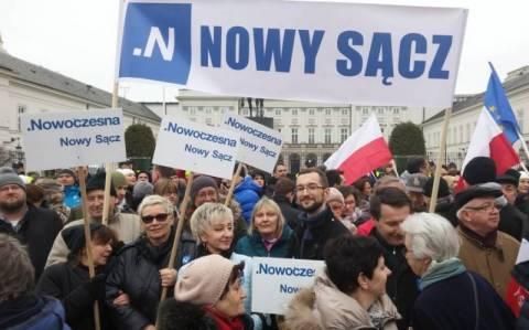 Nowy Sącz:Nowoczesna kontra PiS w sprawie Konstytucji