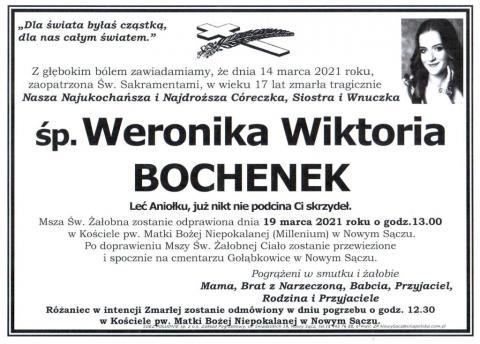 Weronika Wiktoria Bochenek
