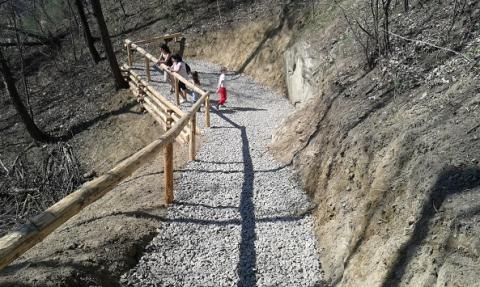 Sądecka Orla Perć – Nowy Sącz ma nowy park na Przetakówce