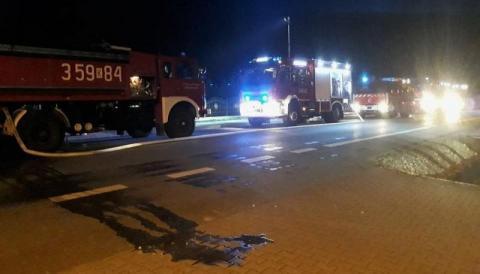 Pożar w Gołkowicach
