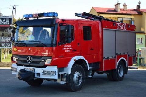 Zbroją się łabowskie OSP. Kto dostanie nowy wóz, a gdzie wyremontują remizę?