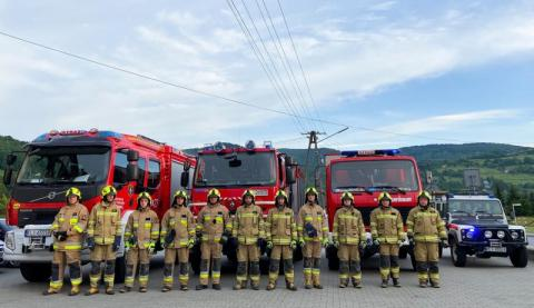 OSP Laskowa dostanie wóz strażacki za frekwencję
