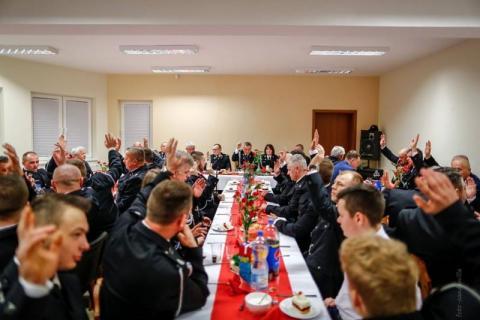 Nowe władze OSP Nawojowa