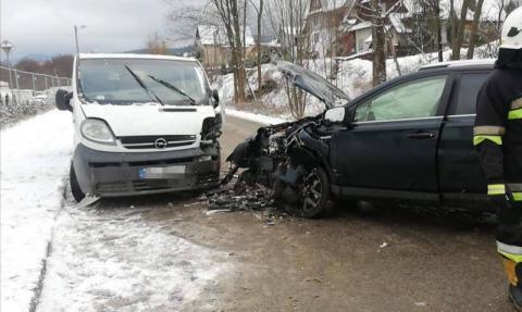 Zima zaskoczyła kierowców