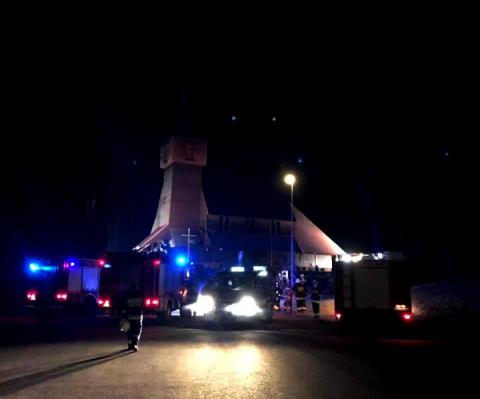 Strażacy wezwani do Nowej Wsi
