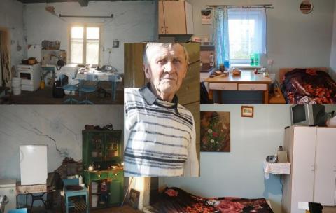 Remont w domu pana Mariana dobiega końca. Niestety wciąż brakuje pieniędzy