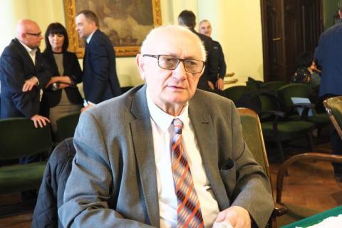 Radny Mieczysław Gwiżdż