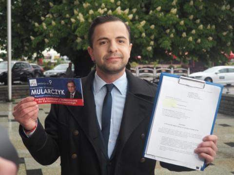 Jakub Bocheński złożył do sądu pozew wyborczy przeciwko posłowi Mularczykowi