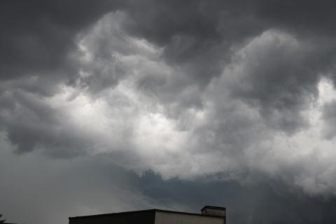 ostrzeżenie o burzach, fot. Iga Michalec