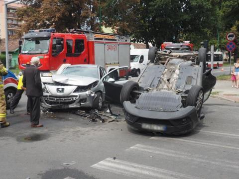 Pięć osób rannych w wypadku na ul. Barskiej. Kto zawinił?