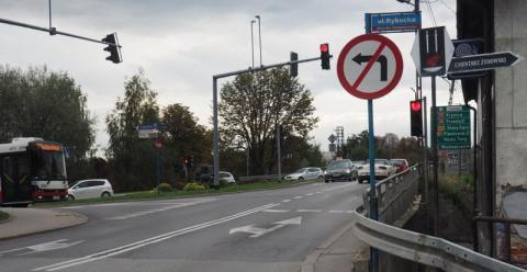 Beka z Nowego Sącza na ulicy Tarnowskiej. Wszystko z powodu znaków drogowych