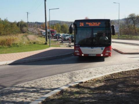 Gmina Stary Sącz: nie mają chodników, ale liczą na dodatkowe autobusy