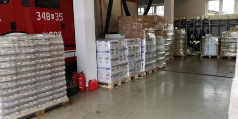 Zebrali 47 ton produktów. Żywność trafi do najbardziej potrzebujących rodzin