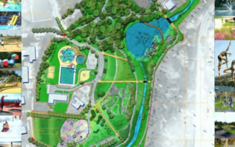 projekt zagospodarowania parku miejskiego w Limanowej