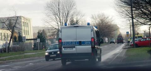 Widząc radiowóz, rzucił się do ucieczki. Co miał na sumieniu?