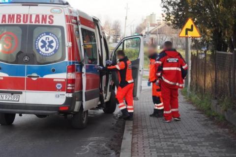 W Limanowej zapalił się gaz. Ranny został pracownik spółki gazowniczej