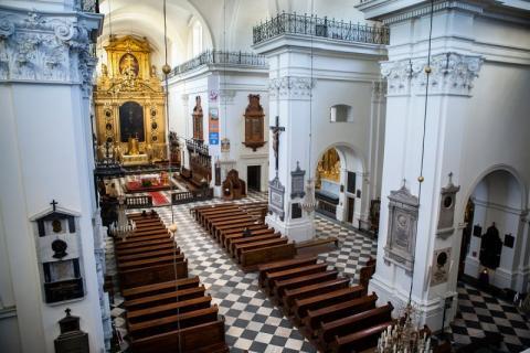 Fot. parafia pw. Świętego Krzyża w Warszawie
