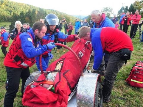 Warszawka w górach. Groziła ratownikowi TOPR, bo... rozbolały ją kolana