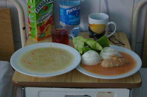 Raport NIK o posiłkach w szpitalach