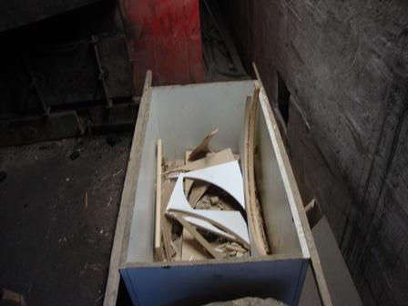 Co jest spalane w piecach, fot. Straż Miejska w Nowym Sączu
