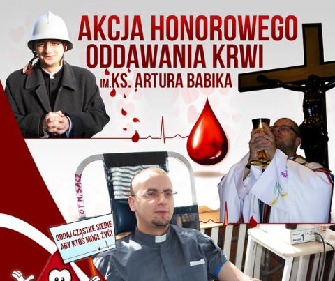 Akcja honorowego oddawania krwi w Korzennej