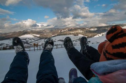 Marzenia o zimowej pierzynie. Czy na weekend spadnie u nas śnieg?