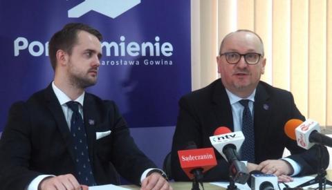 Krzysztof Głuc łowi młodych w Nowym Sączu w partyjne sieci Jarosława Gowina