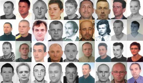 Są ścigani przez policję, bo nie płacą alimentów. Poznajesz którąś z tych osób?