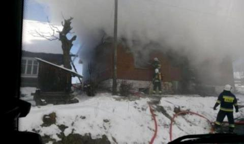 Cały dom mógł pójść z dymem. Wszystko przez pożar w kuchni