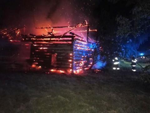 Dom płonął jak zapałka. Zostały tylko zgliszcza