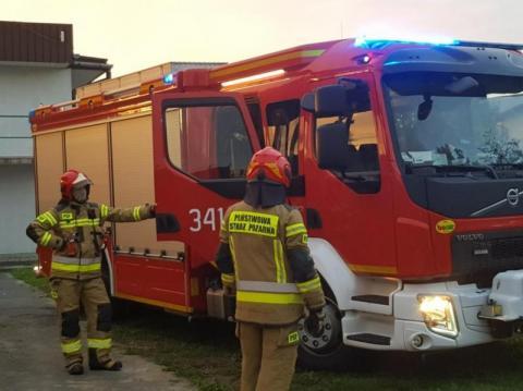 Z ostatniej chwili: pożar drewnianego domu koło Gorlic. Trwa akcja ratunkowa