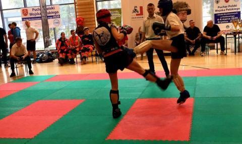 Regionalni medaliści Pucharu Polski Wojska Polskiego i Służb Mundurowych w Kickboxingu