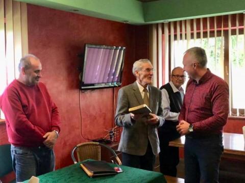 Tadeusz Giza otrzymał Złotą Odznakę Honorową