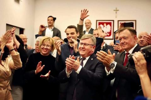 Andrzej Duda wygrał wybory! Ale wielka radość w sądeckim sztabie PiS