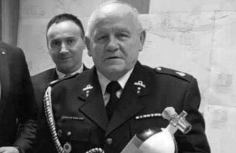 Strażacy z Florynki w żałobie. W wieku 71 lat zmarł Czesław Siedlarz