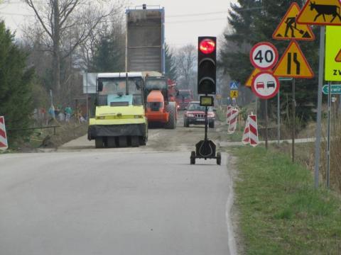 remont dróg na Sądecczyźnie