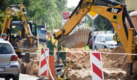 Stary Sącz: mur oporowy vs kanalizacja. Co z tego wynikło?