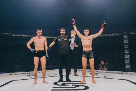 Robert Ruchała wygrał drugą walkę w zawodowym MMA